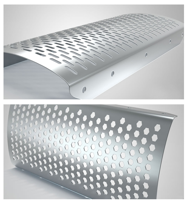 Perforated metal mesh product