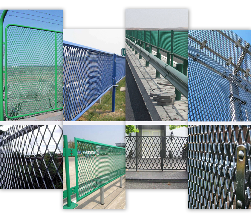 Fencing Expanded Metal mesh applications
