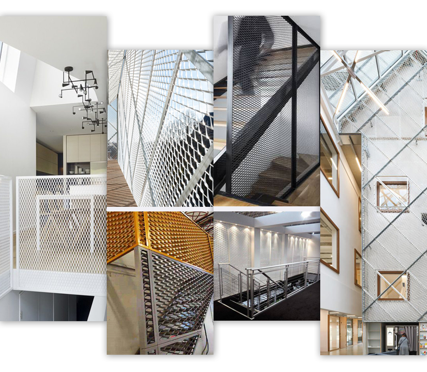 Interior Decoration Expanded Metal Applications