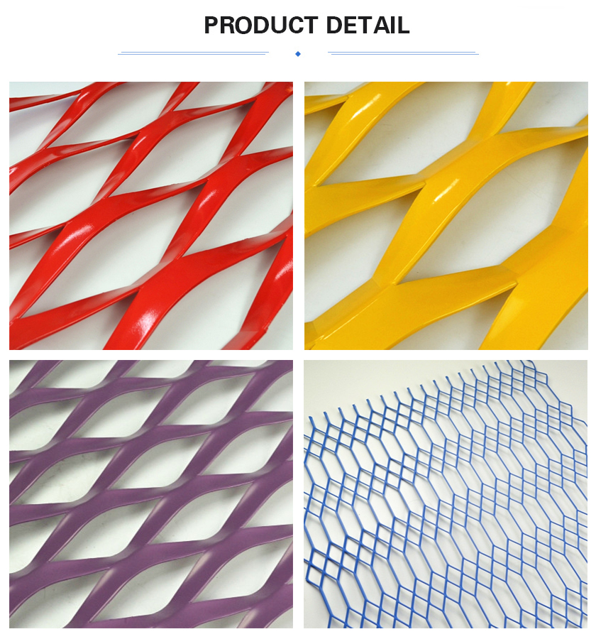 Coated Expanded metal sheet product detail