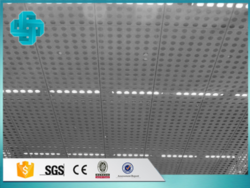 Ceiling Perforated Aluminum sheet