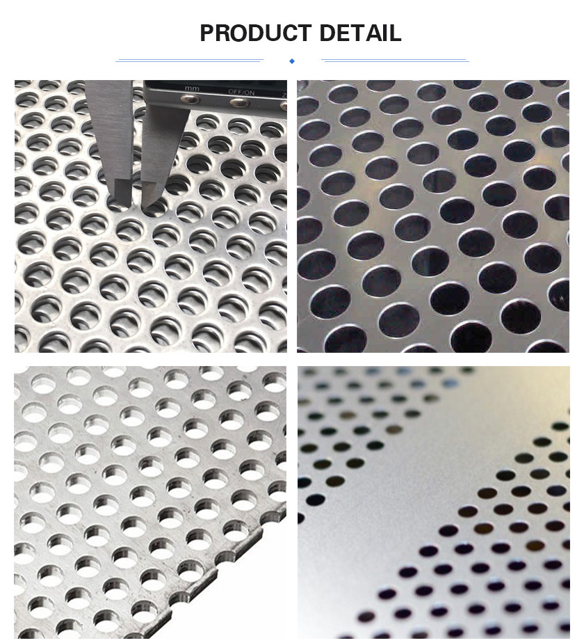 Stainless steel perforated sheet product detail