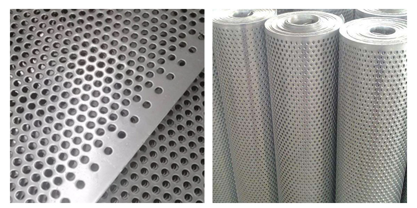 Stainless steel perforated sheet product details
