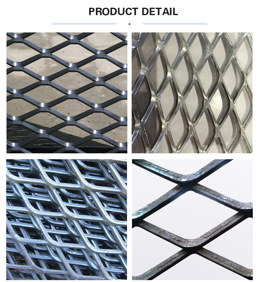 Heavy Expanded Metal Mesh product detail