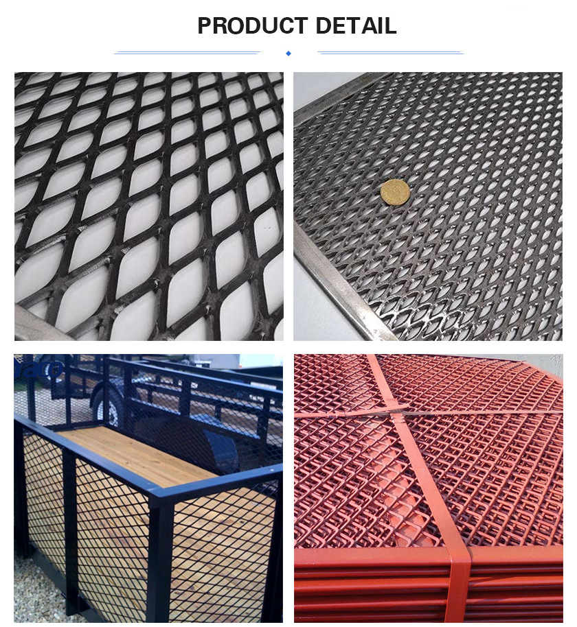 Frame Expanded Metal Mesh product detail