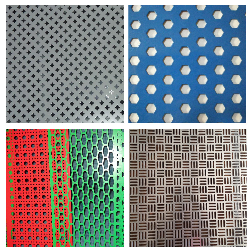 Special hole (hexagonal hole) perforated metal mesh