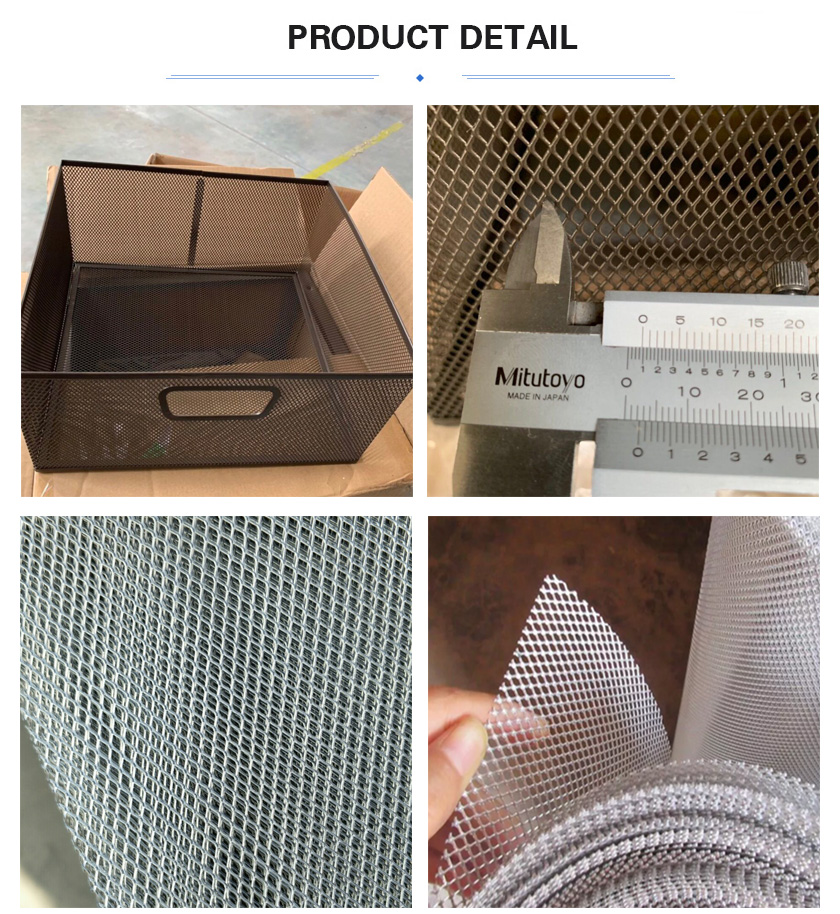 small hole expanded metal screen