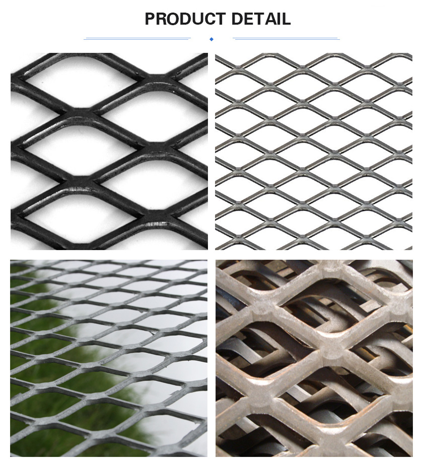Flattened Expanded Metal Mesh product details