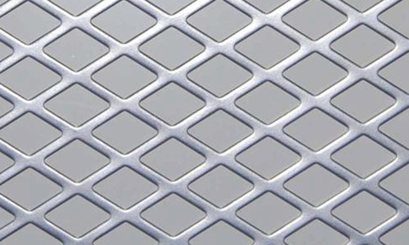 Flattened Expanded Metal Mesh / Sheet