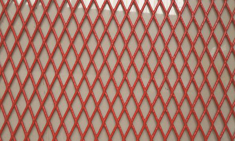 Coated Expanded Metal Mesh / Sheet