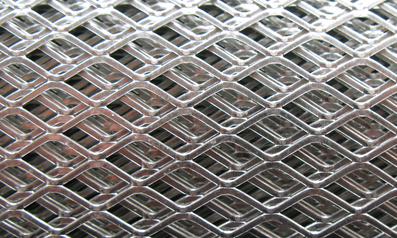Stainless Steel Expanded Metal Mesh / Sheet
