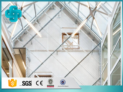 Interior Decoration Expanded Metal Mesh