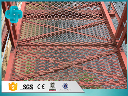 Treads Expanded Metal Mesh
