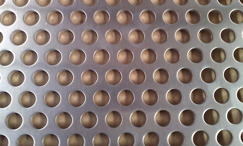 Stainless Steel Perforated Metal Mesh / Sheet