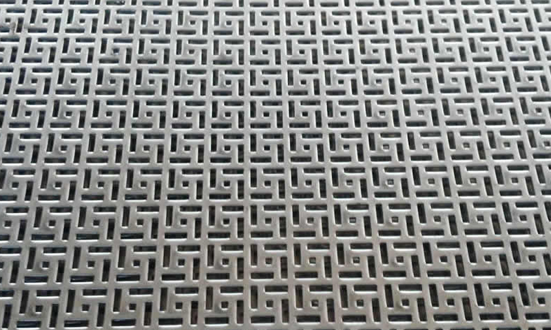 Special Hole Perforated Metal Screen Sheet / Mesh